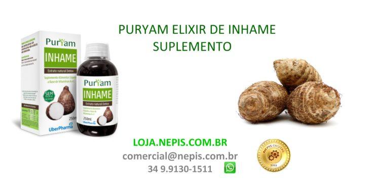 Elixir De Inhame Suplemento – Puryam