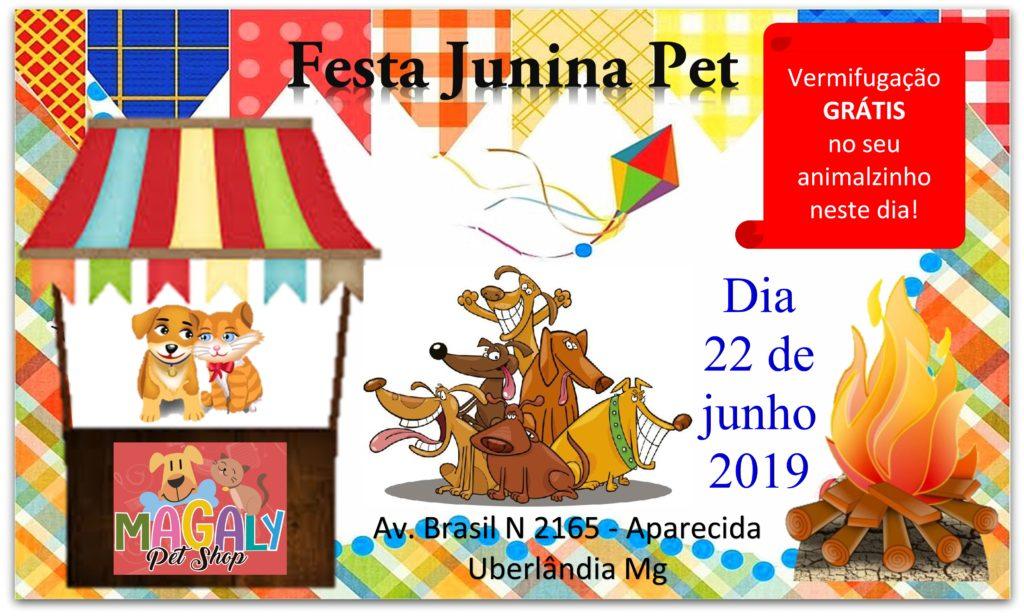 Festa Junina MAGALY Pet Shop
