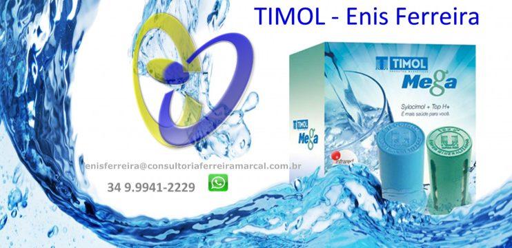 Água Magnetizada Timol – Enis Ferreira