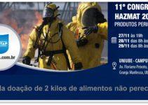 11° Congresso HAZMAT 2019 PAM-TAP Uberlândia Mg