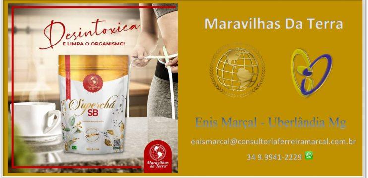 Chá SB  Maravilhas Da Terra – Enis Marçal Uberlândia Mg