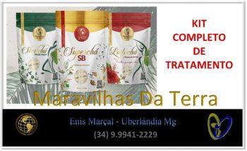 Kit Completo De Tratamento Chá Maravilhas Da Terra