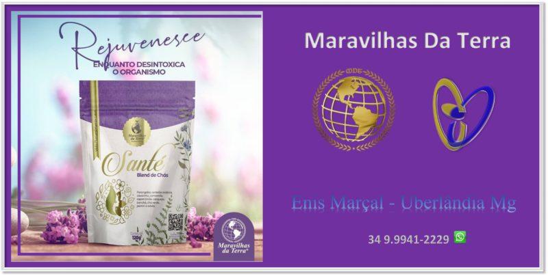 Chá Santé Maravilhas Da Terra – Enis Marçal Uberlândia Mg